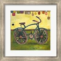 Framed Bike Green