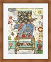 Framed Elephant Chair