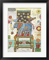 Framed Elephant Chair