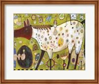 Framed Pleasure Horse