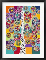 Framed Pinwheel Tree