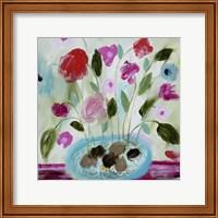 Framed Winter Blooms II
