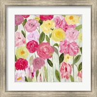 Framed Margaret's Flowers