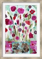 Framed Winter Blooms