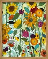 Framed Sunflower House