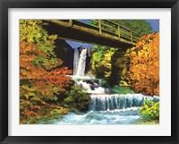 Framed Waterfall C