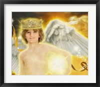 Framed Archangel Jophiel