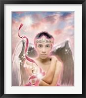 Framed Chamuel Angel