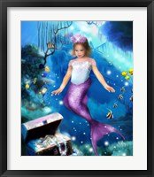 Framed Mermaid Princess