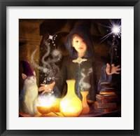 Framed Wizard