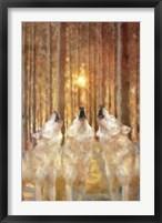 Framed Wolf Harmony