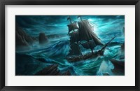 Framed Dangerous Seas