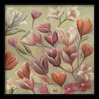 Framed Floral Paradise