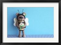 Framed Bear Bee