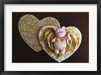 Framed Bear Cupid