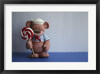 Framed Bear Lollipop Sailor
