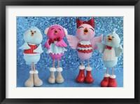 Framed Birds 4 Calling Birds Christmas 2014