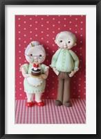 Framed Grandma And Grandpa