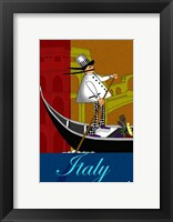 Framed Chef in Italy
