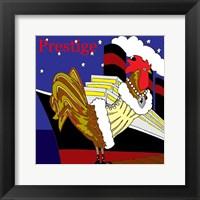 Framed Rooster Prestige