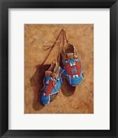 Framed Child's Footsteps