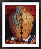 Framed Native American Artistry