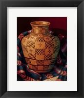 Framed Weaver's Artistry