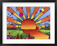 Framed 2014 Sunset