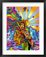 Framed Jimi Color