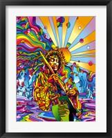 Framed Jimi Color