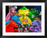 Framed Cows Poker