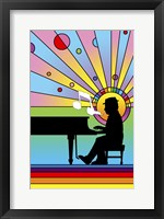 Framed Piano Player 1