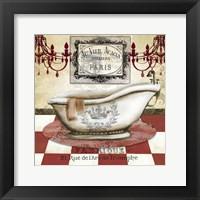 Framed Red French Bath II
