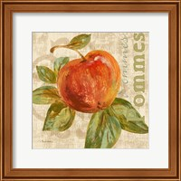 Framed Rustic Fruit I