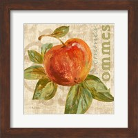 Framed Rustic Fruit I
