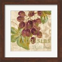 Framed Rustic Fruit II