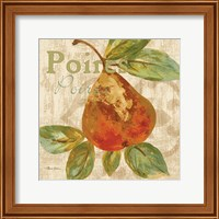 Framed Rustic Fruit IV