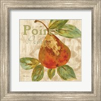 Framed Rustic Fruit IV