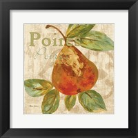 Rustic Fruit IV Framed Print