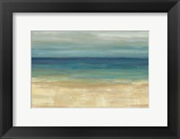 Framed Navy Blue Horizons