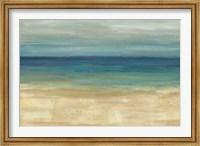 Framed Navy Blue Horizons