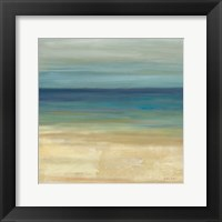 Framed Navy Blue Horizons I