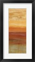 Horizons Spice Panel I Framed Print