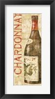Wine Stucco I Framed Print