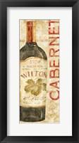 Framed Wine Stucco II