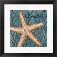 Nautical Critters II Framed Print