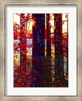 Framed Carnelian Morning