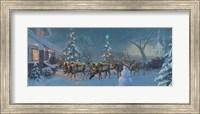 Framed Christmas Travelers 1