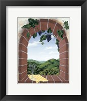 Framed Tuscan Arch