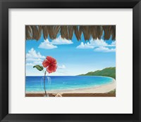 Framed Una Playa Perfecto